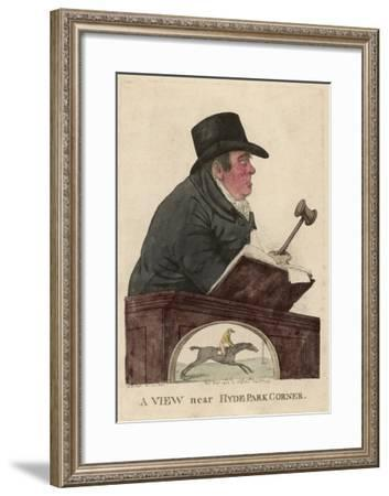 Richard Tattersall Racehorse Auctioneer and Founder of Tattersalls--Framed Giclee Print