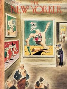The New Yorker Cover - January 9, 1937 by Richard Taylor