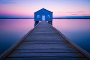 Boathouse by Richard Vandewalle