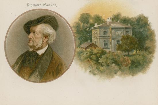Richard Wagner, German Composer--Giclee Print