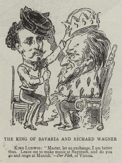 Richard Wagner--Giclee Print