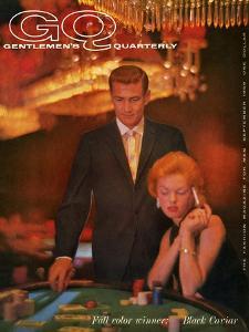 GQ Cover - September 1959 by Richard Waite