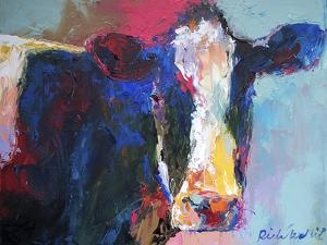 Art B Cow by Richard Wallich
