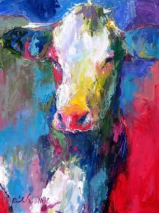 Art Cow 2 by Richard Wallich