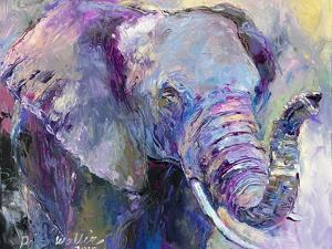 Blue Elephant by Richard Wallich
