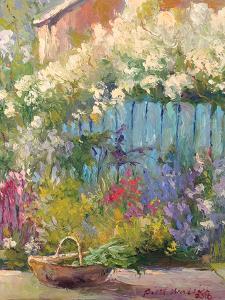 Blue Fence by Richard Wallich