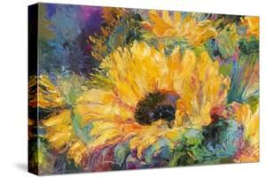 Blue Sunflowers by Richard Wallich