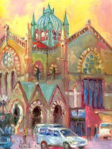 Boston Church by Richard Wallich
