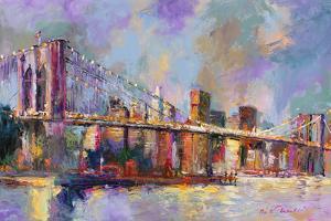 Brooklyn Bridge by Richard Wallich