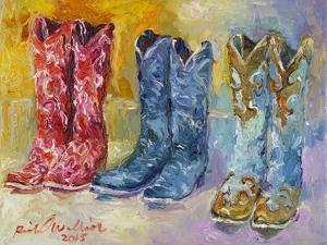 Cowboy Boots by Richard Wallich
