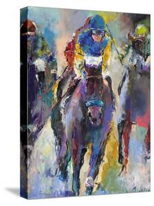 Horse Racing Jockeys Canvas Art