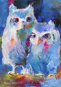 Owls by Richard Wallich