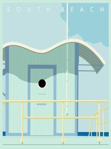 Art Deco-South Beach by Richard Weiss