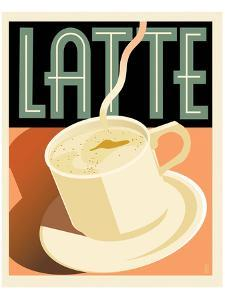Deco Latte I by Richard Weiss