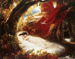 A Sleeping Beauty by Richard Westall