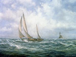 Fastnet Abeam by Richard Willis