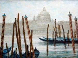 Gondolas At Rest by Richard Willis