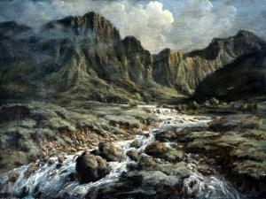 Mountain River by Richard Willis