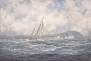 Off the Needles, Isle of Wight, 1997 by Richard Willis