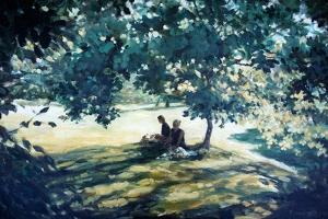 Tea In The Garden by Richard Willis
