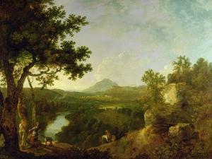 View Near Wynnstay, the Seat of Sir Watkin Williams-Wynn, 1770-71 by Richard Wilson