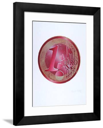 Ein Euro (Rot)