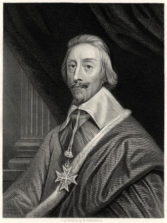 Cardinal Richelieu, French Prelate and Statesman, 19th Century