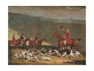 'Francis Duckenfield Astley, Esq., and his Harriers', c19th century