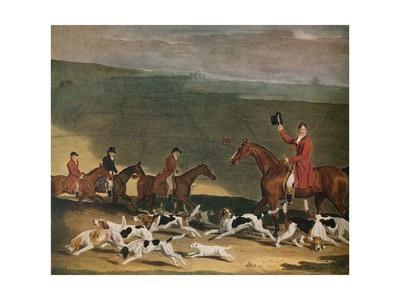 'Francis Dukinfield Astley, Esq., and his Harriers', 1809. (1941)