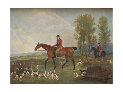 'His Majesty's Harriers', c19th century