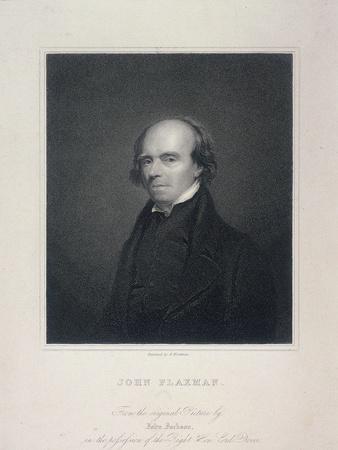 Portrait of John Flaxman, C1800