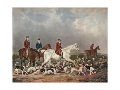 'The Earl of Derby's Stag Hounds', c1823