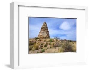 A Monument to Arizona Miner Ed Schieffelin, Tombstone, Arizona by Richard Wright