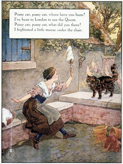 Richardson: Pussy Cat-Frederick Richardson-Giclee Print