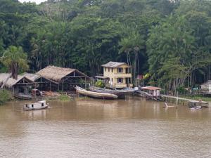 Amazon Village, Brazil, South America by Richardson Rolf