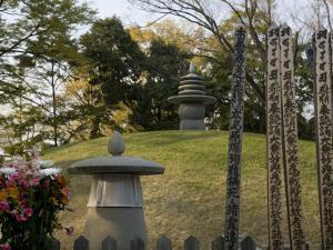 Atomic Bomb Memorial Mound, Peace Park, Hiroshima, Japan by Richardson Rolf