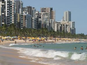 Boa Viagem Beach, Recife, Pernambuco, Brazil, South America by Richardson Rolf