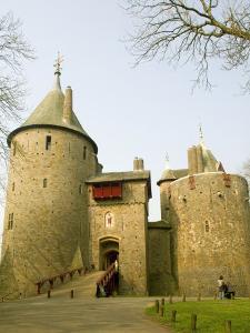 Castell Coch, Near Cardiff, Wales, United Kingdom, Europe by Richardson Rolf
