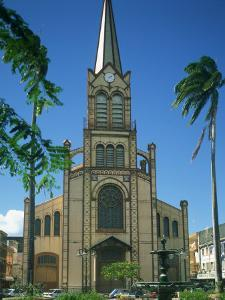 Cathedral at Fort De France, Martinique, Lesser Antilles, West Indies, Caribbean, Central America by Richardson Rolf