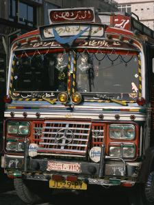 Close-Up of a Decorated Bus, Damascus, Syria, Middle East by Richardson Rolf