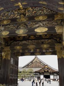 Gateway to Nijo Castle, Kyoto, Japan by Richardson Rolf