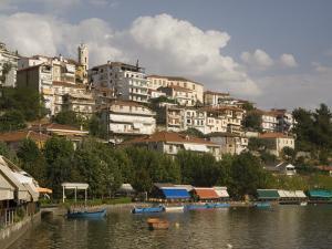 Kastoria and Lake Orestiada, Macedonia, Greece, Europe by Richardson Rolf