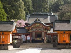Kirishima-Jingu Shrine, Kirishima, Kyushu, Japan by Richardson Rolf