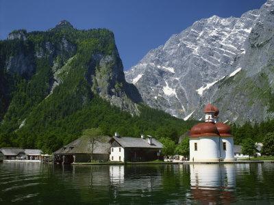 Konigsee, Bavaria, Germany, Europe
