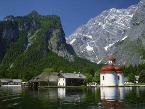 Konigsee, Bavaria, Germany, Europe by Richardson Rolf
