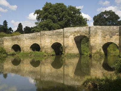 Stopham Bridge over River Arun, Near Pulborough, Sussex, England, United Kingdom, Europe