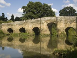 Stopham Bridge over River Arun, Near Pulborough, Sussex, England, United Kingdom, Europe by Richardson Rolf