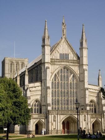 Winchester Cathedral, Hampshire, England, United Kingdom, Europe