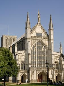 Winchester Cathedral, Hampshire, England, United Kingdom, Europe by Richardson Rolf