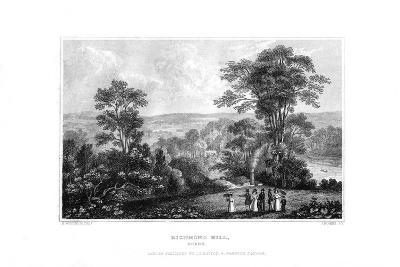 Richmond Hill, Surrey, England, 1829-J Rogers-Giclee Print